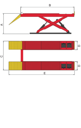 AX-12A Diagram